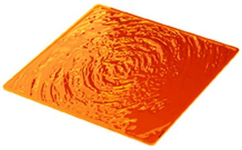 Guzzini - aqua - podkładka na stół kwadratowa, pomarańczowy