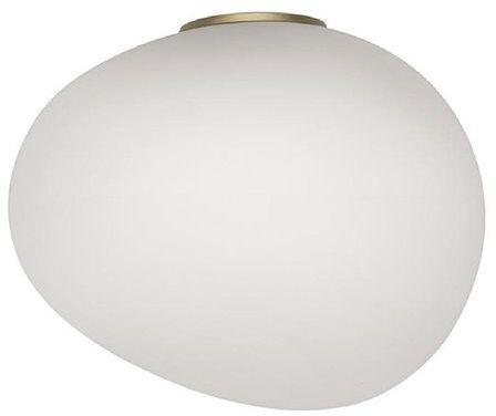 Gregg Midi H21 biały, złoty - Foscarini - lampa ścienna