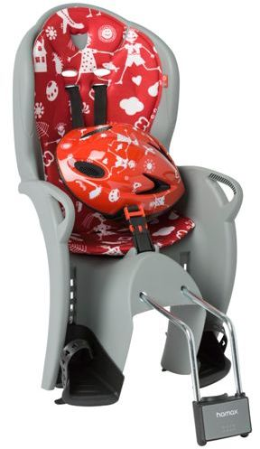 Fotelik rowerowy HAMAX KISS + KASK red