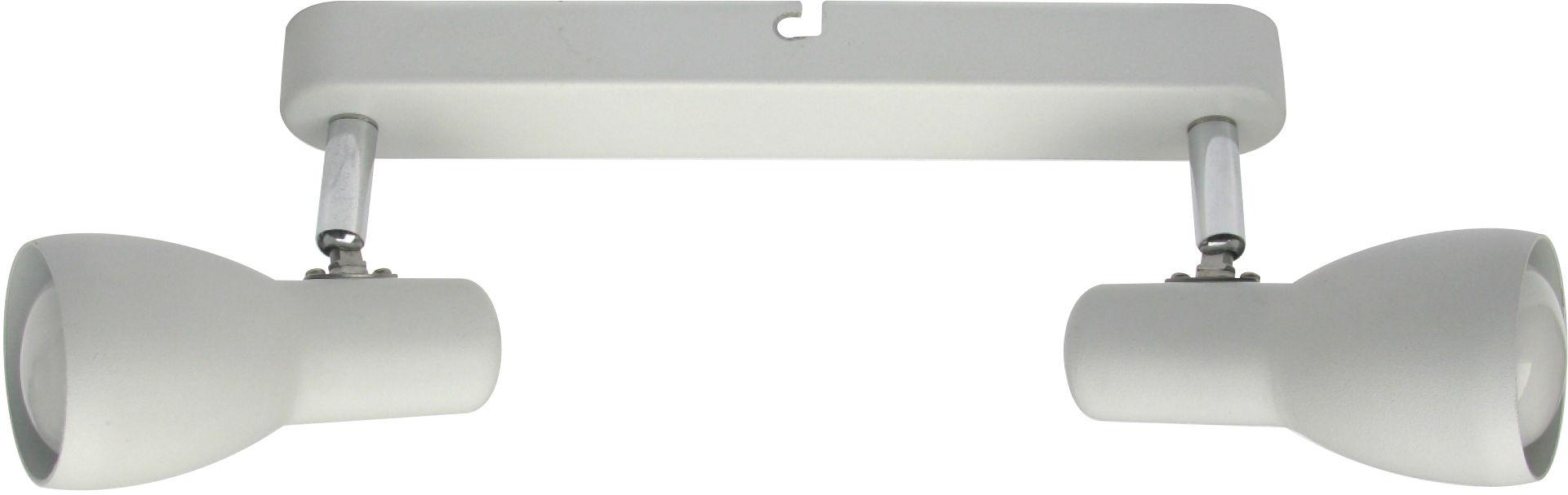 Candellux PICARDO 92-44181 oprawa oświetleniowa biały mat stalowy klosz 2X40W E14 36cm