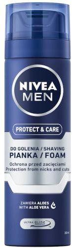 Nivea Men Protect & Care pianka do golenia 200 ml