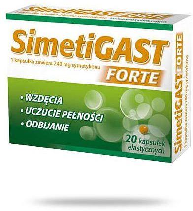 Simetigast Forte 20 kapsułek