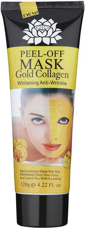 24k GOLD COLLAGEN MASK - Whitening Anti-Wrinkle - Peel Off Facial Mask - Kolagenowa maska ze złotem PEEL OFF