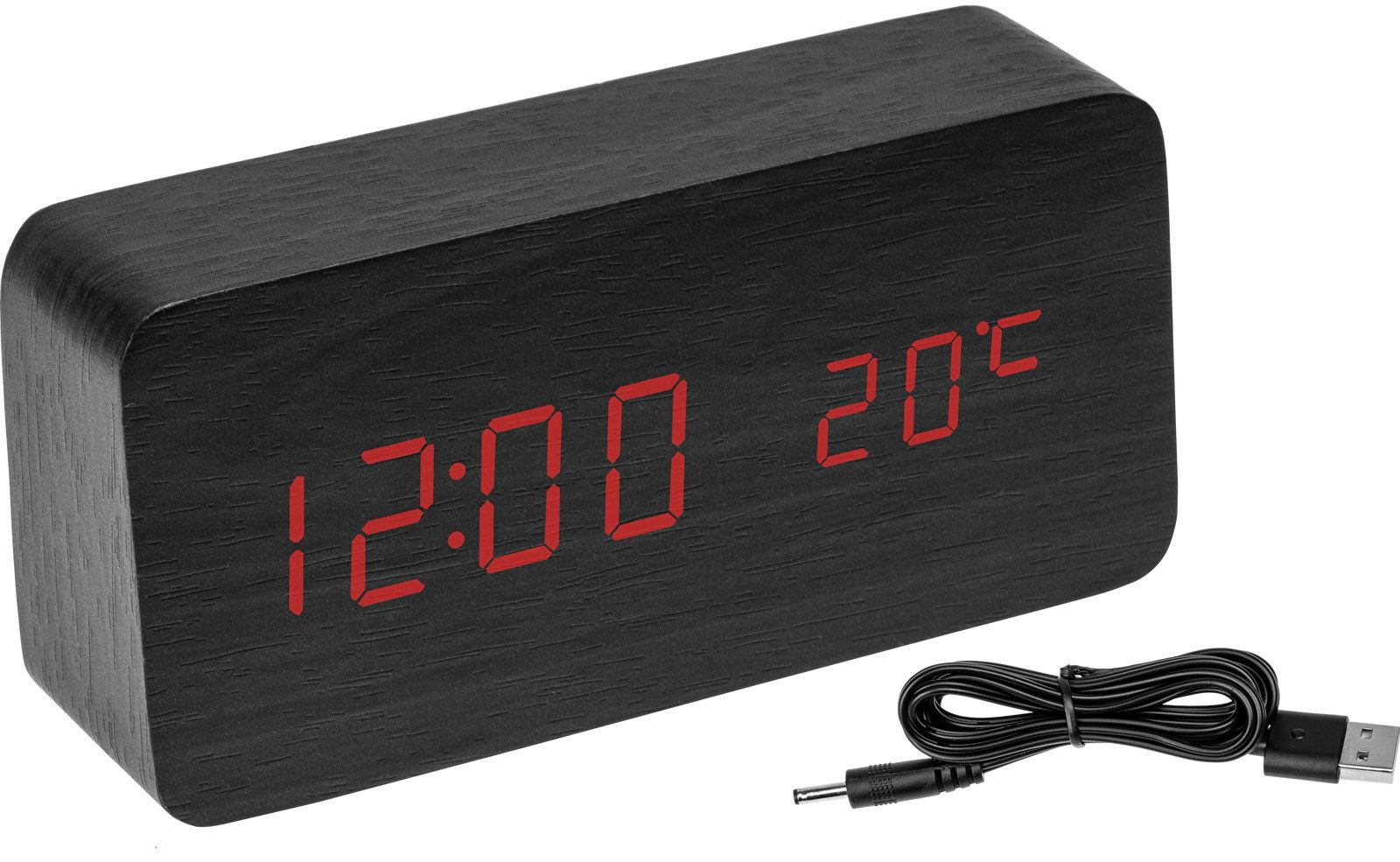 Elektroniczny termometr z budzikiem