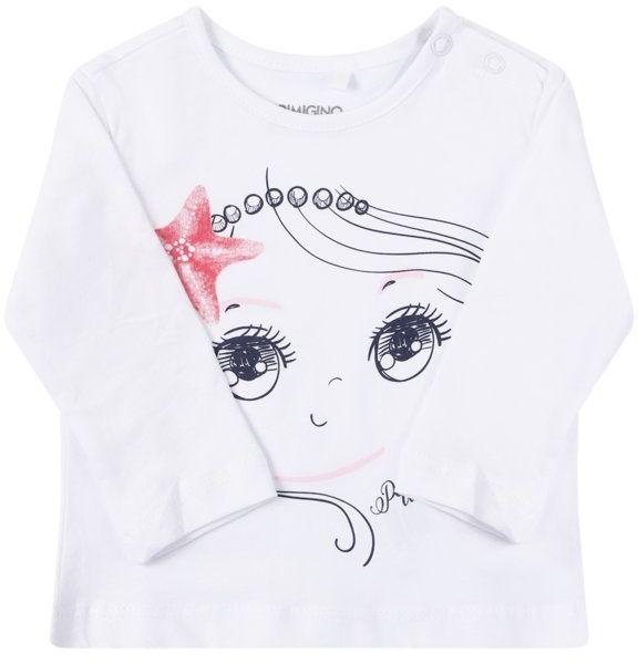 Primigi Bluzka Easy Wear Girl 45216501 Biały Regular Fit