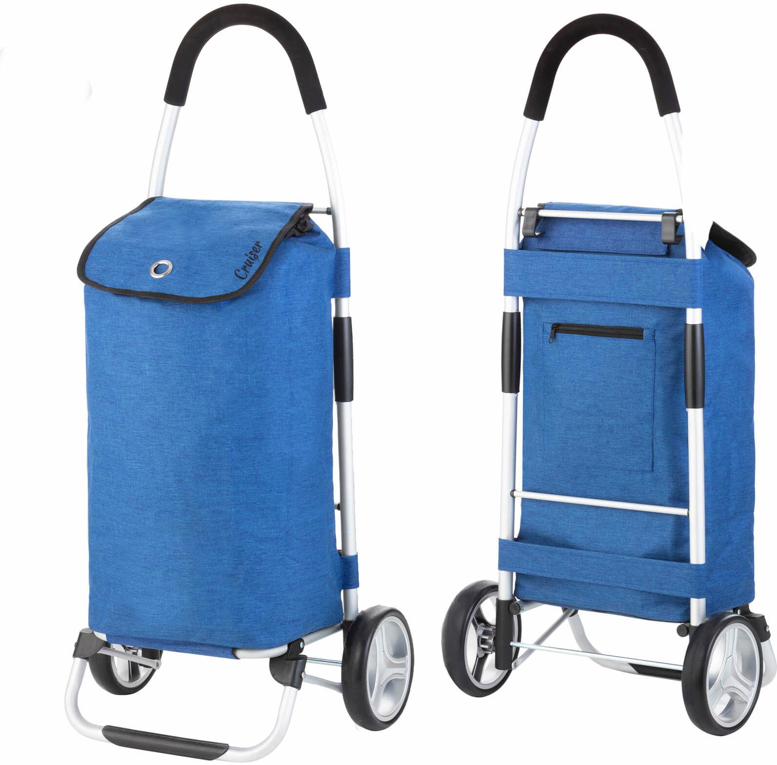 Wózek zakupowy Cruiser Classic /niebieski/