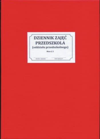 Dziennik zajęć przedszkola [Men-I/1] - na rok 2021