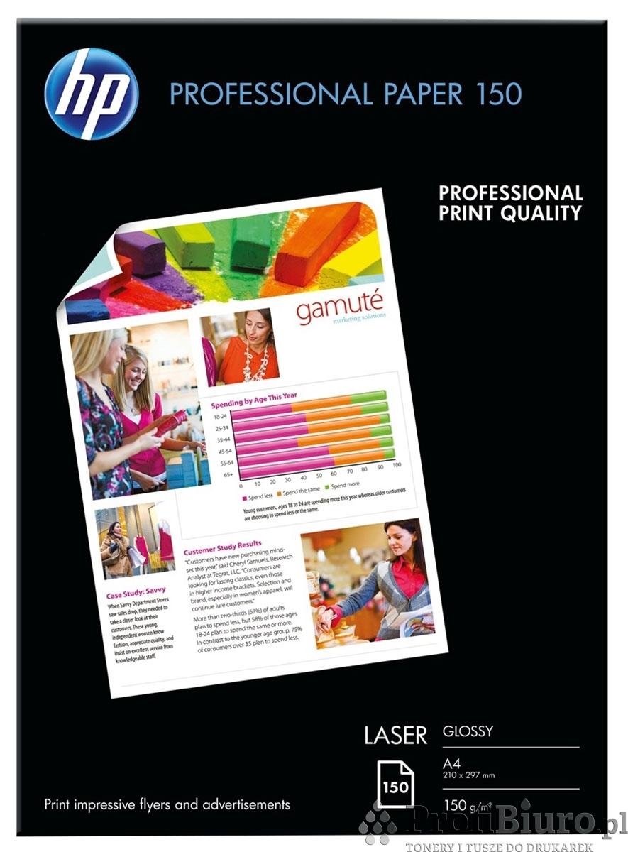 Papier fotograficzny HP CG965A Professional błyszczący -150g/m2 - A4 - 150szt.