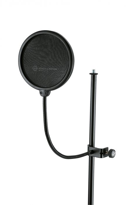 K&M 23956 osłona do mikrofonu, średnica 130 mm, popkiller