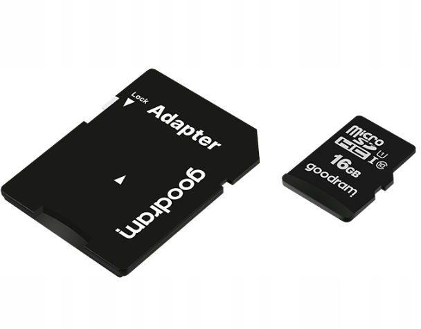 Karta pamięci micro sd 16GB kl.10