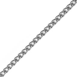 Łańcuszek 4mm Srebrny