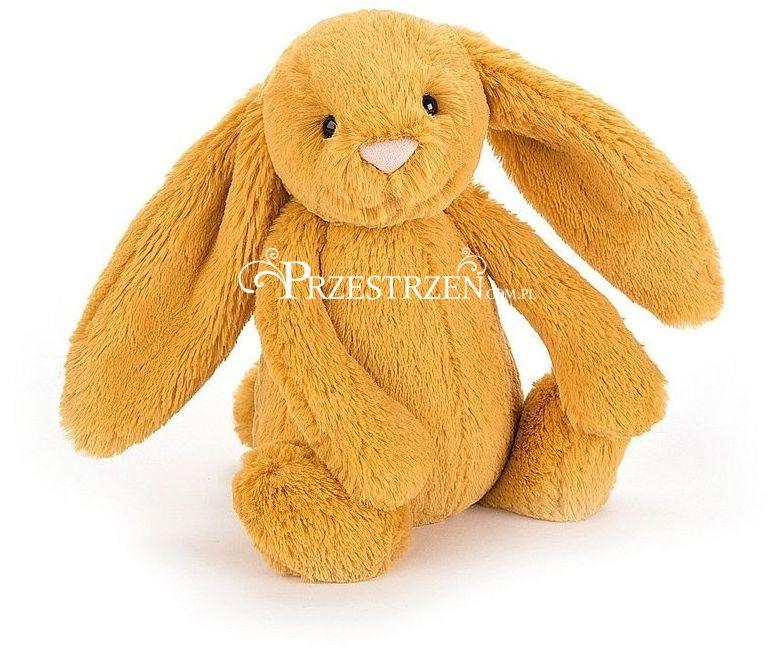 MASKOTKA JELLYCAT Pluszowy Królik - Szafranowy / Bashful Bunny 31 cm