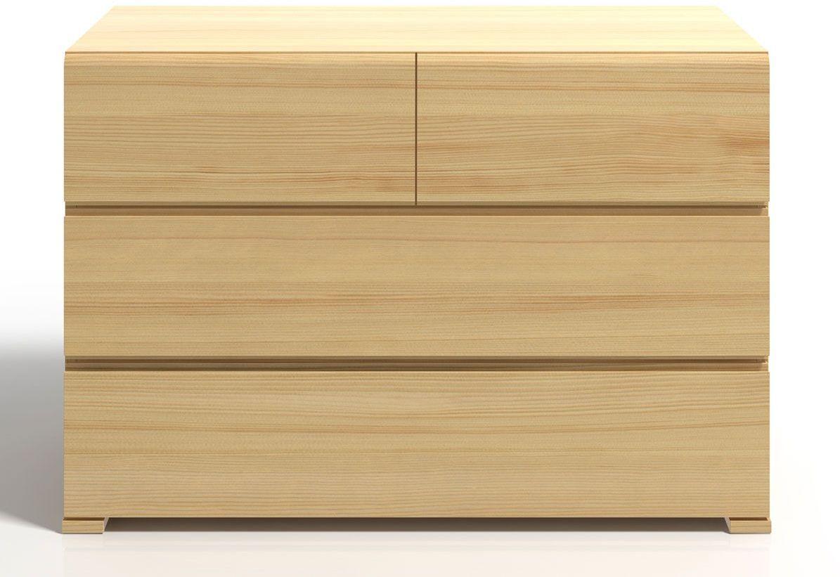 Komoda drewniana z szufladami Verlos 3S - Sosna