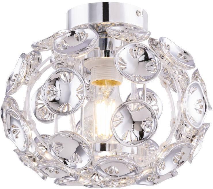 Globo LUGGO 51500-1D plafon lampa sufitowa chrom 1xE27 60W 25,5cm