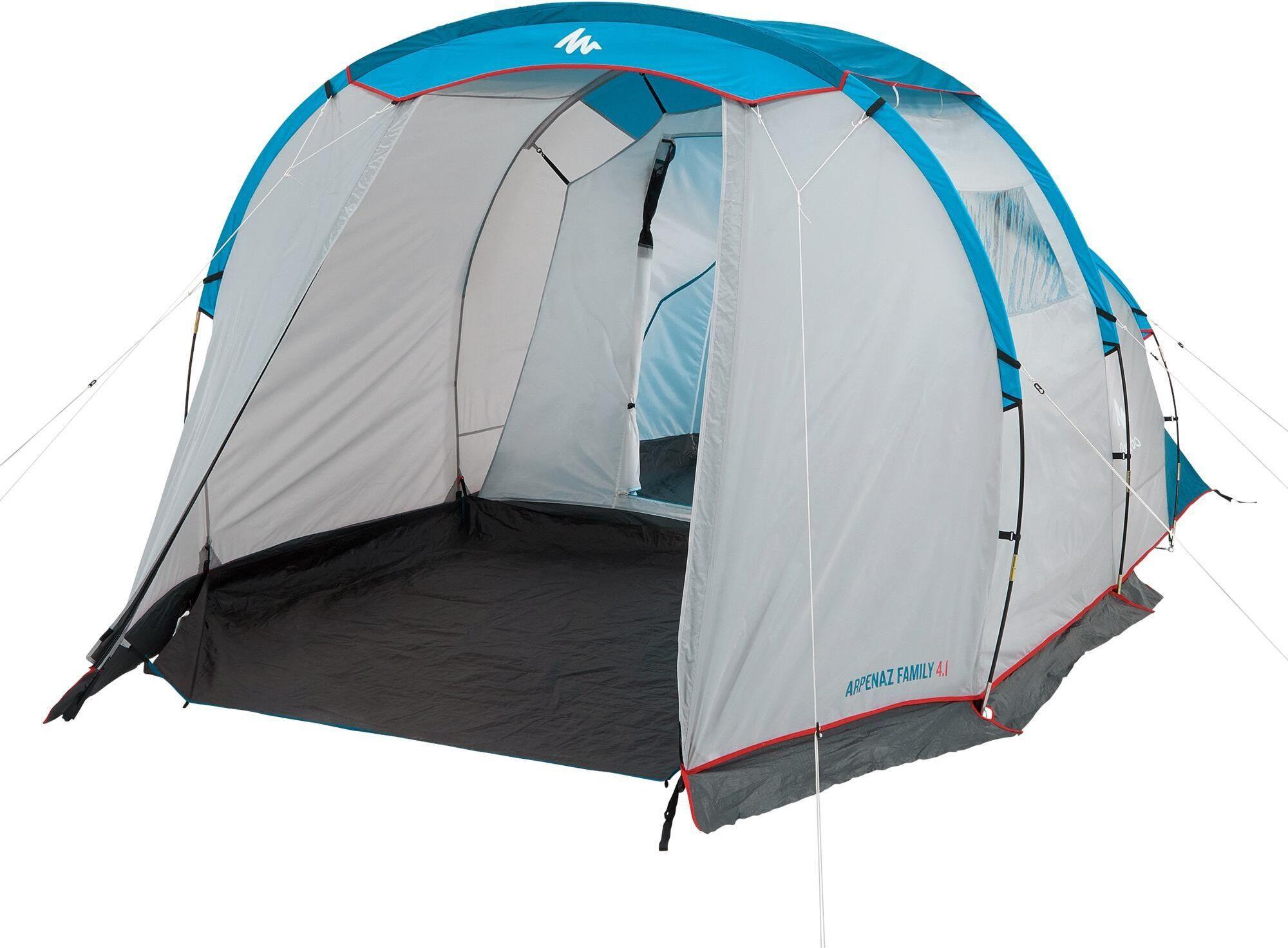 Namiot kempingowy Arpenaz 4.1 4 osoby, 1 sypialnia