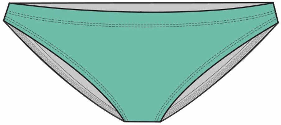 TYR Klasyczne bikini damskie do treningu na spodzie, aerobik morski, XL
