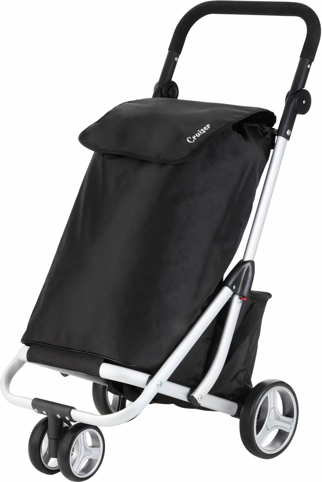 Wózek zakupowy trójkołowy Cruiser /czarny/