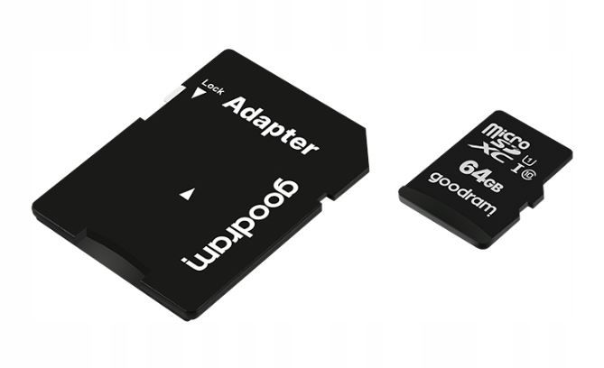 Karta pamięci micro sd 64gb kl.10