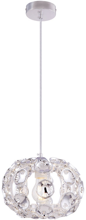 Globo LUGGO 51500-1H lampa wisząca chrom 1xE27 60W 25,5cm