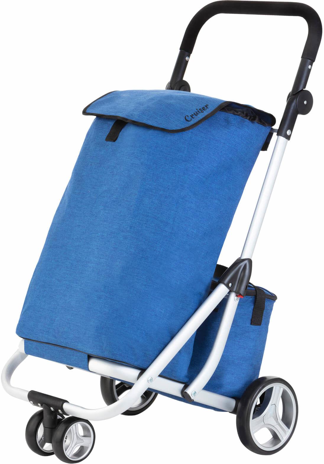 Wózek zakupowy trójkołowy Cruiser /niebieski/