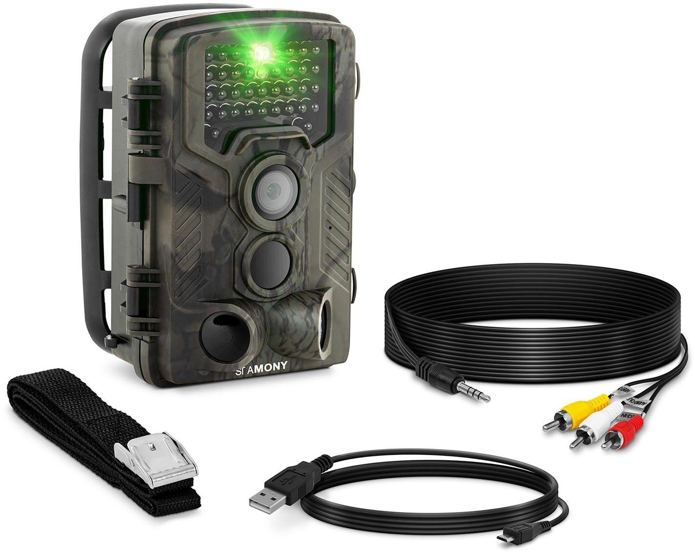 Fotopułapka - 8 MP - Full HD - 42 IR LED - 20 m - 0,3 s - StaMony - ST-HC-8000B - 3 lata gwarancji/wysyłka w 24h