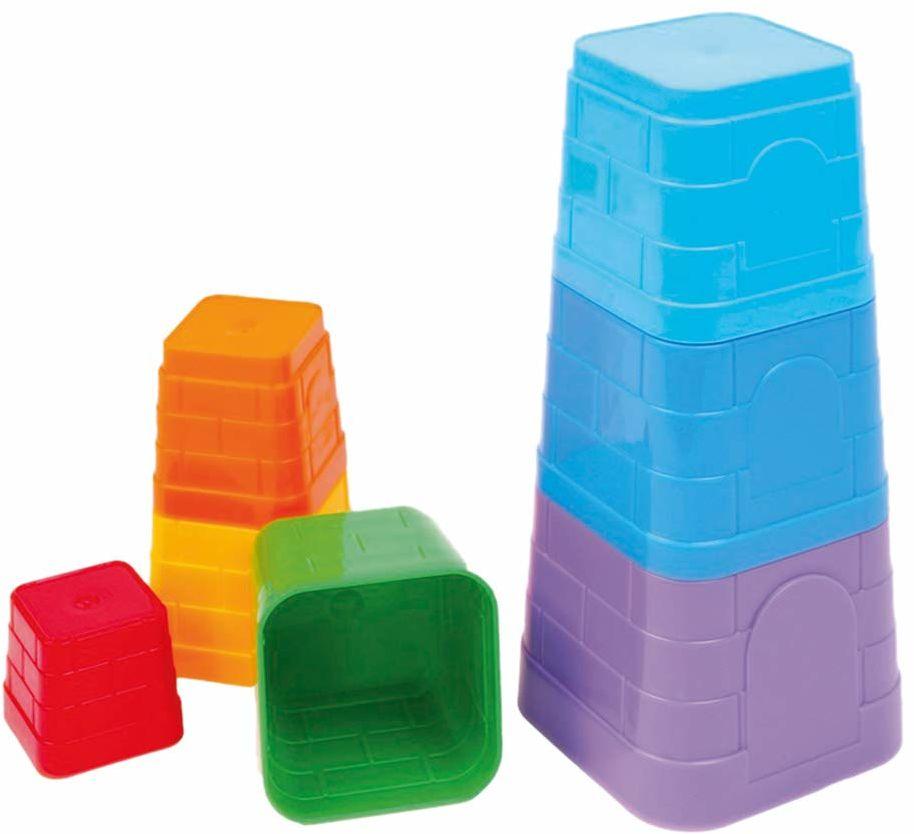 Bino & Mertens 83211 piramida z form piasku, kolorowa