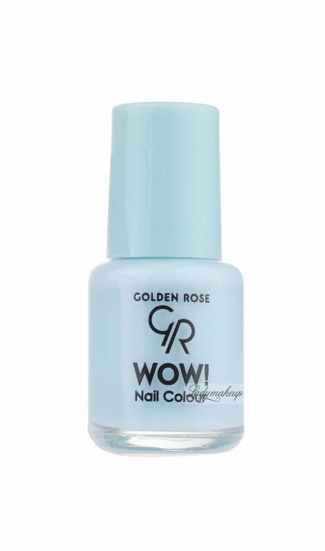 Golden Rose - WOW! Nail Color - Lakier do paznokci - 6 ml - 101