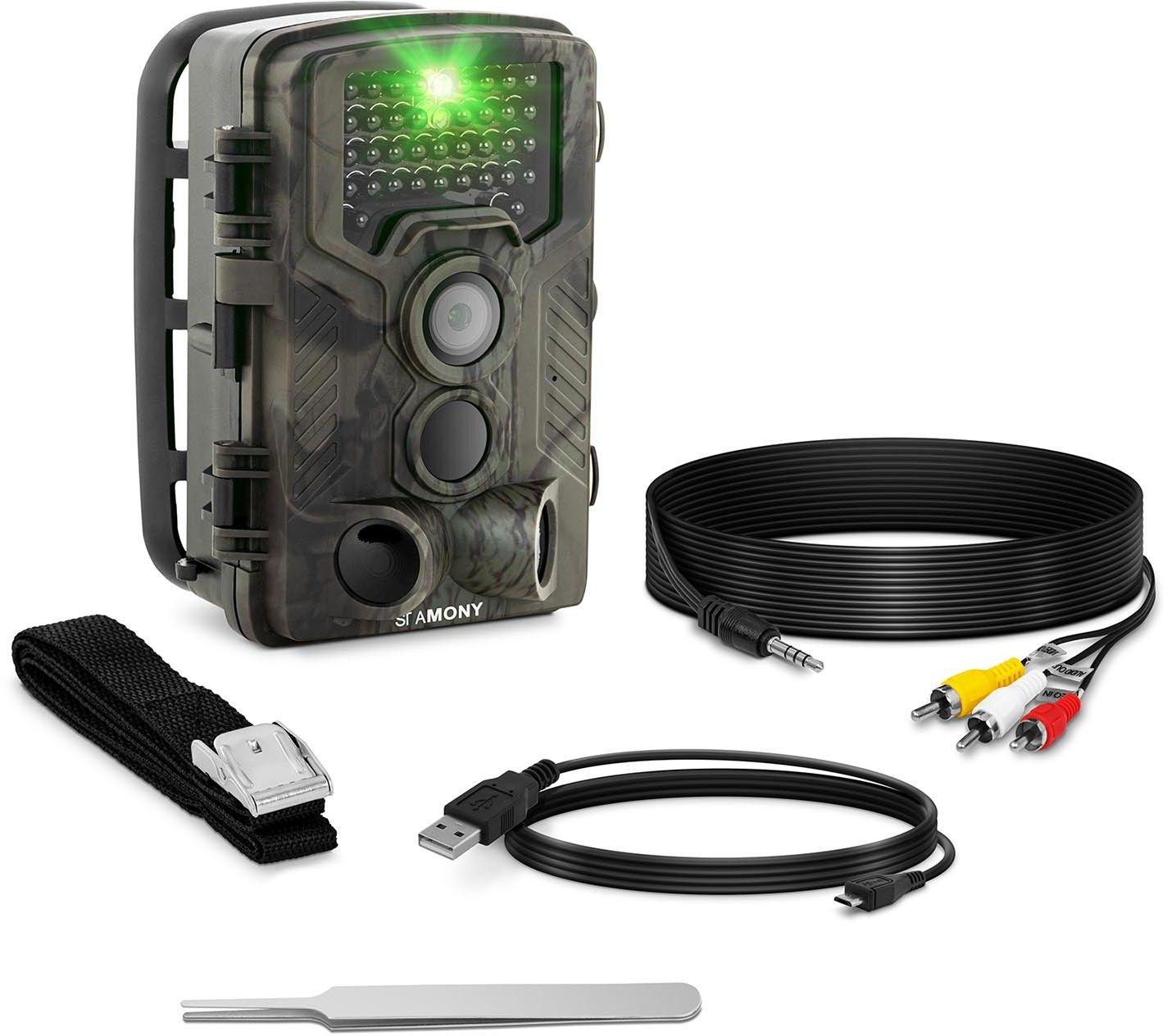 Fotopułapka - 8 MP - Full HD - 42 IR LED - 20 m - 0,3 s - 3G - StaMony - ST-HC-8000G - 3 lata gwarancji/wysyłka w 24h