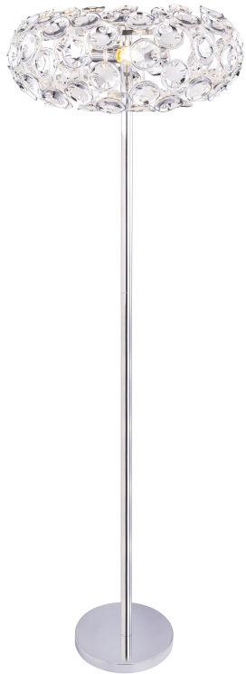 Globo LUGGO 51500S lampa podłogowa chrom 3xE14 40W 46cm