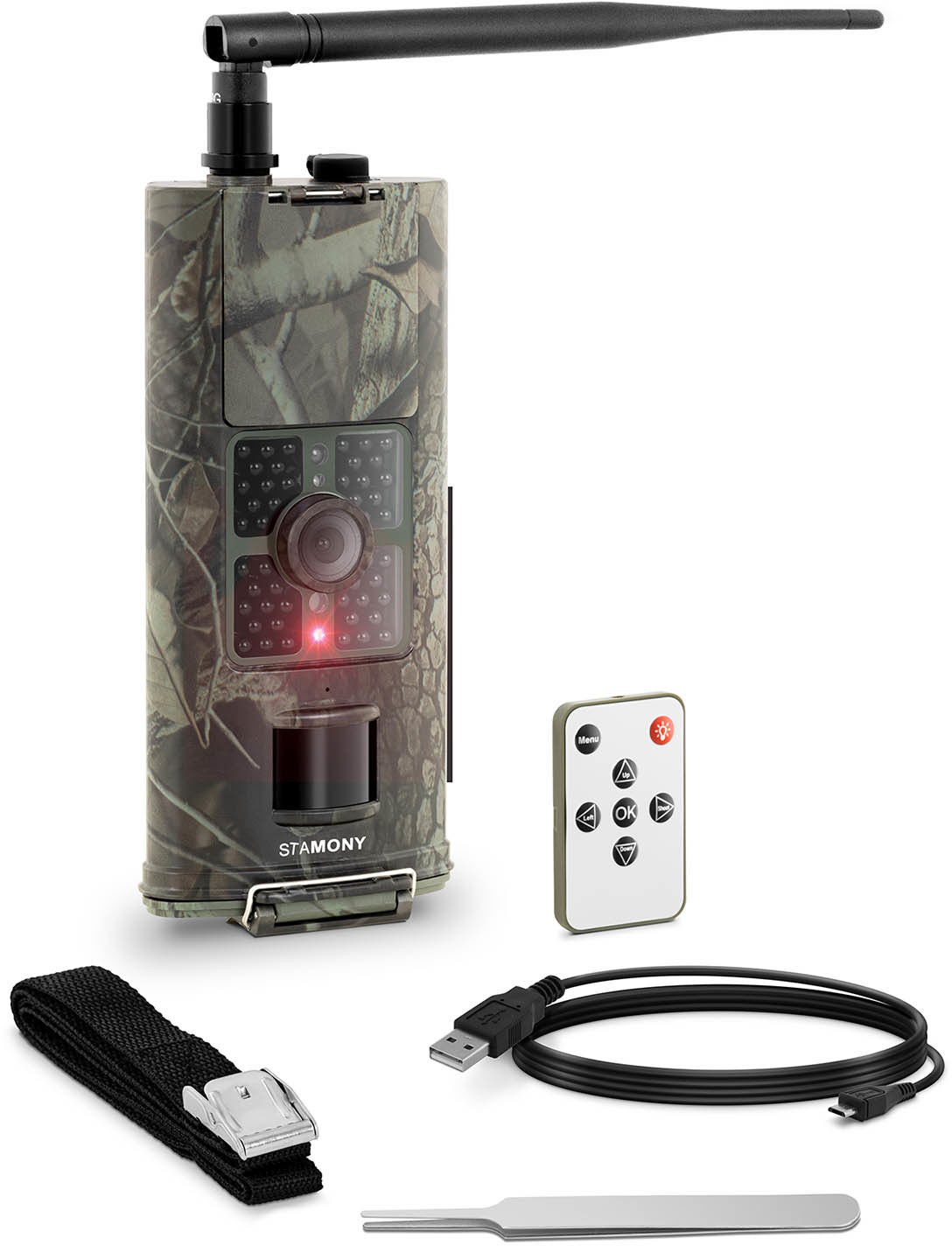 Fotopułapka - 8 MP - Full HD - 48 IR LED - 20 m - 0,5 s - 3G - StaMony - ST-HC-5000GT - 3 lata gwarancji/wysyłka w 24h