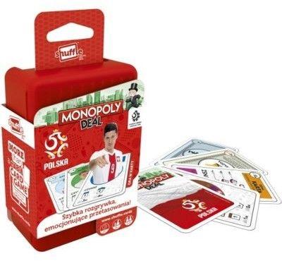 Gra karciana Shuffle Monopoly PZPN (plast)