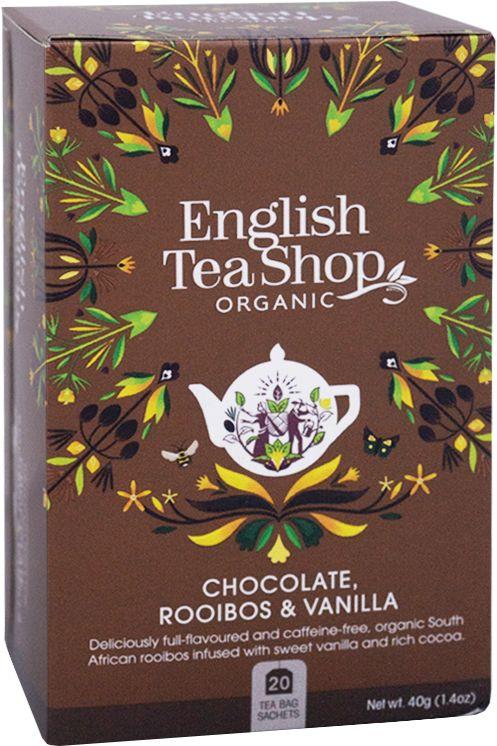 ETS Chocolate Rooibos & Vanilla 20 saszetek