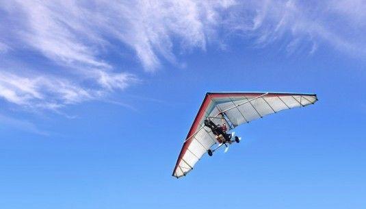 Lot motolotnią - Pińczów - 10 minut