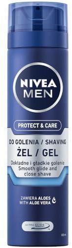 Nivea Men Protect & Care nawilżający żel do golenia 200 ml