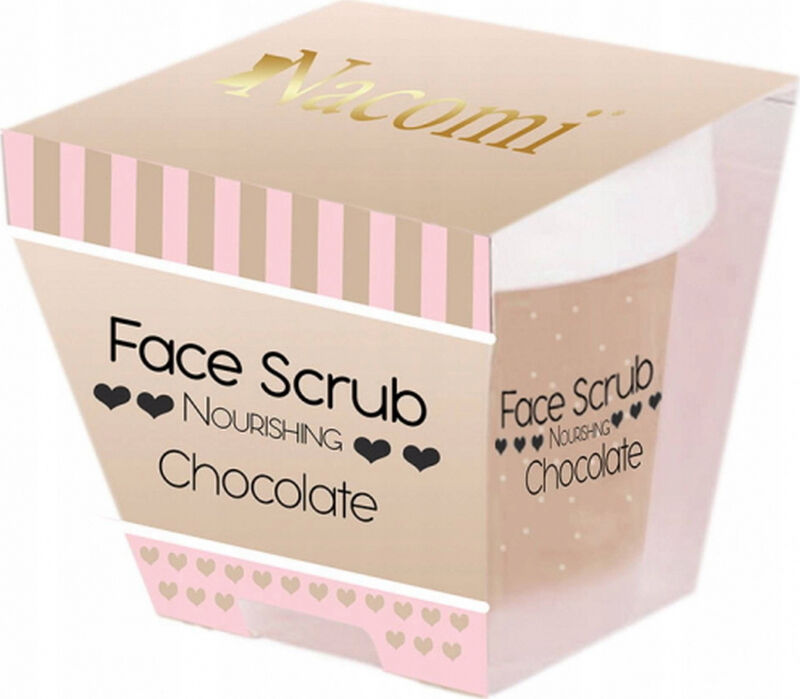 Nacomi - Face Scrub - Odżywczy peeling do twarzy - Czekolada