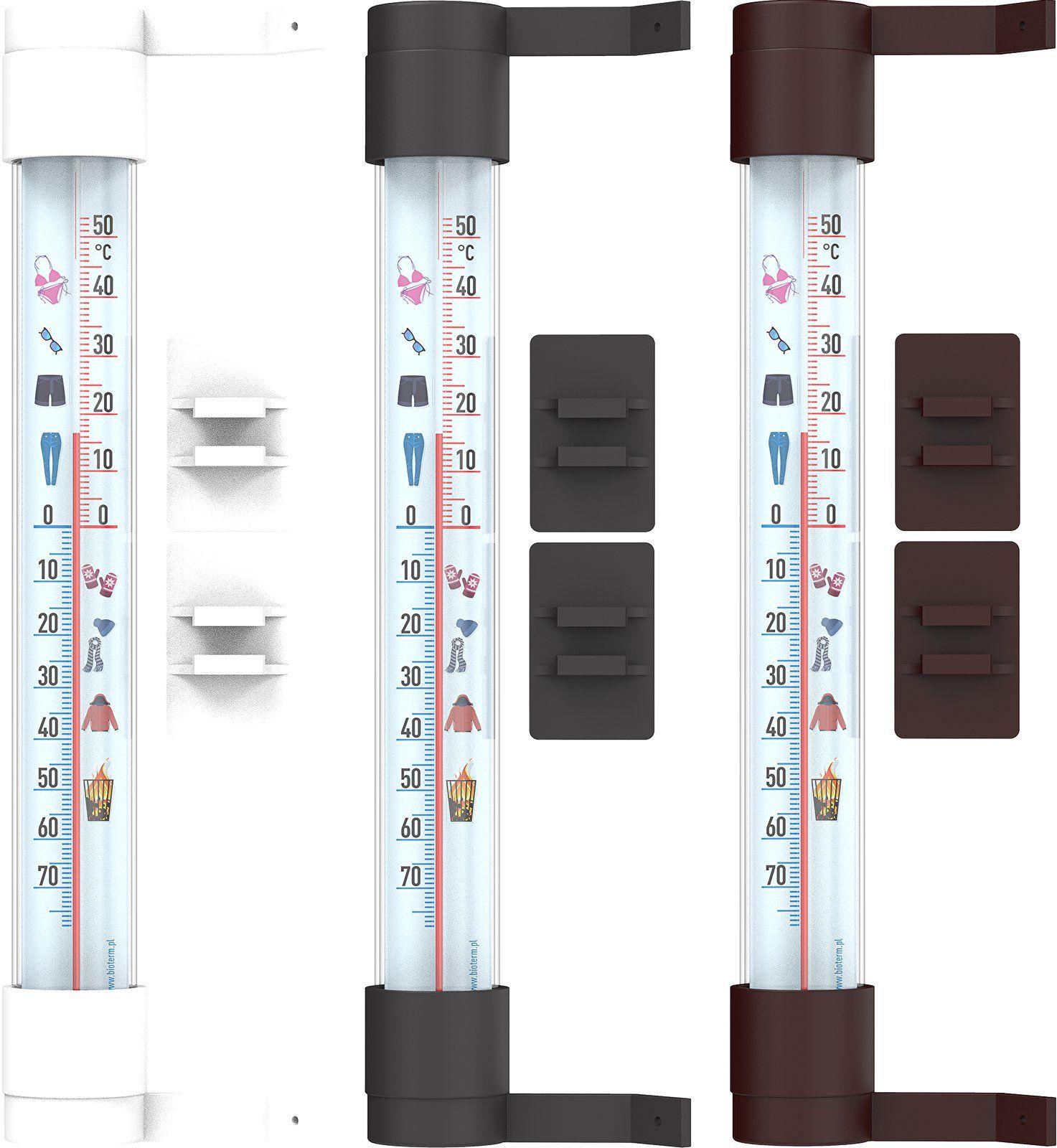 Termometr zewnętrzny z grafiką, Ubrania