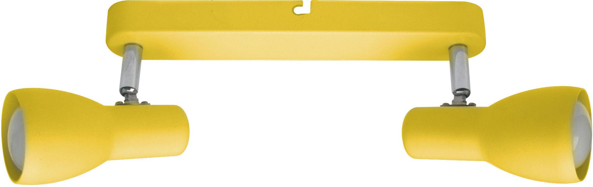 Candellux PICARDO 92-52407 oprawa oświetleniowa musztardowy stalowy klosz 2X40W E14 36cm