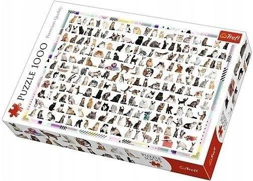 Puzzle 1000 208 Kotów TREFL