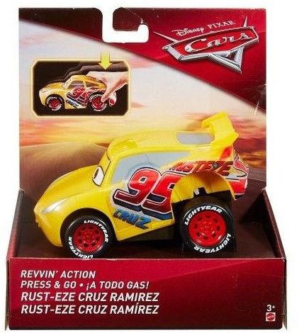 Mattel Cars Naciśnij i jedź Cruz Ramirez FMH51 DVD31