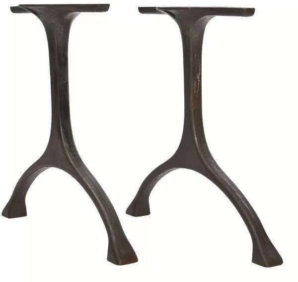 MAIDEN Table Legs Iron Black - Podstawa stołu