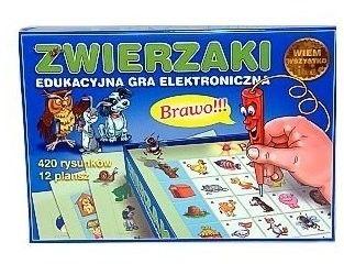 Gra elektroniczna Zwierzaki Wiem Wszystko JAWA GRA-16