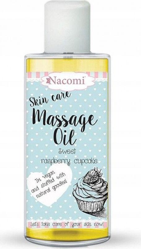 Nacomi - Skin Care Massage Oil - Olejek do ciała - Malinowa babeczka