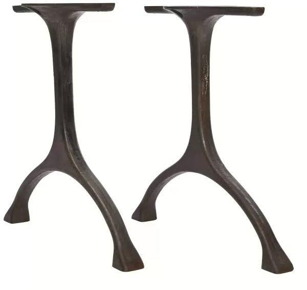 MAIDEN Table Legs Iron Raw - Podstawa stołu