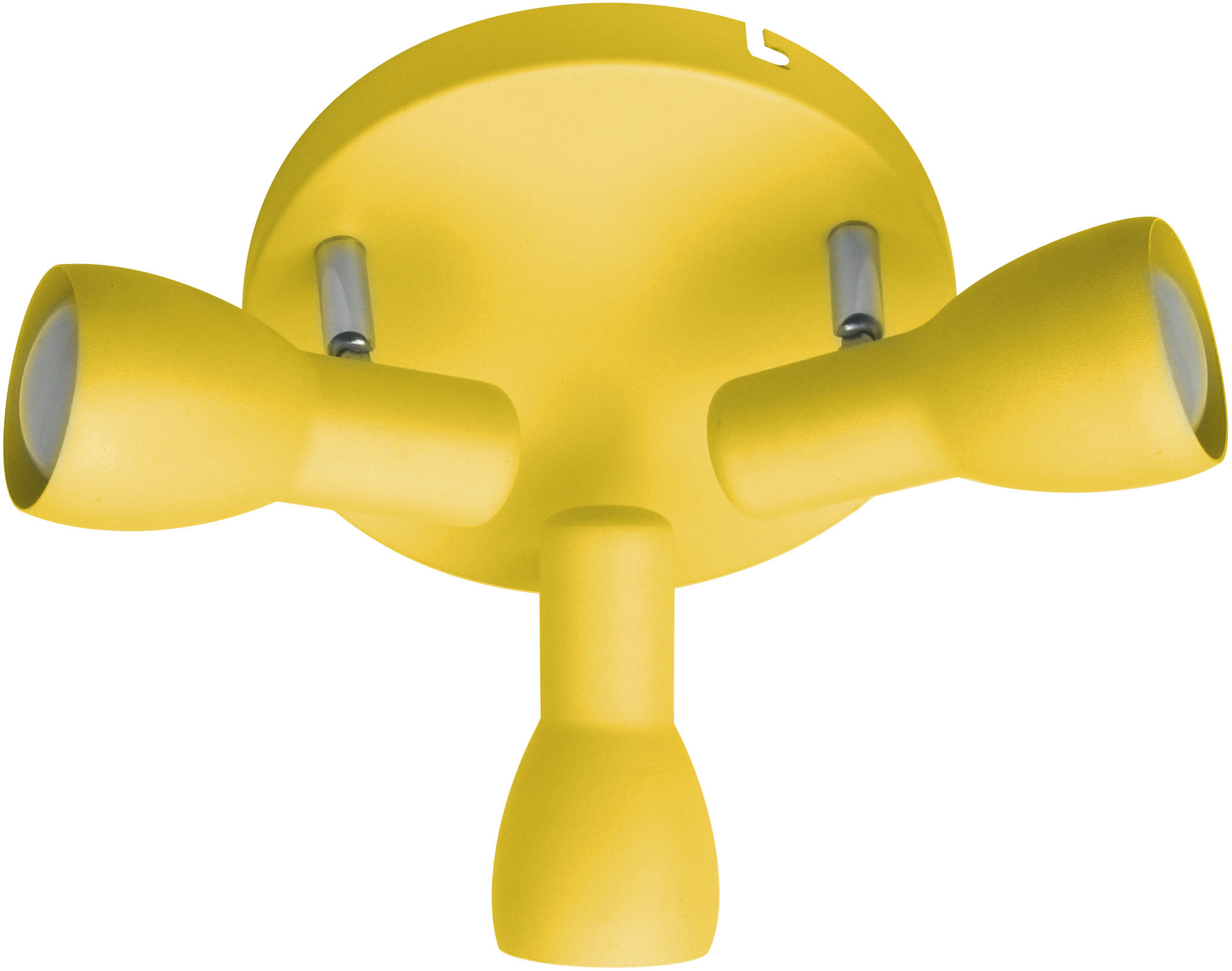 Candellux PICARDO 98-52414 plafon lampa sufitowa musztardowa stalowy klosz 3X40W E14 29cm