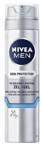 Nivea Men Silver Protect żel do golenia 200 ml