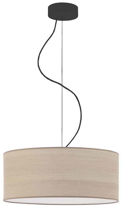 Żyrandol z abażurem w stylu boho 40 cm - EX850-Hajfes - wybór kolorów
