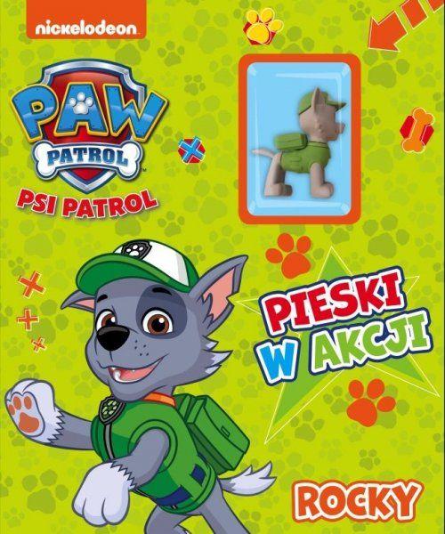 Psi Patrol Pieski w akcji 4 Rocky (z figurką)