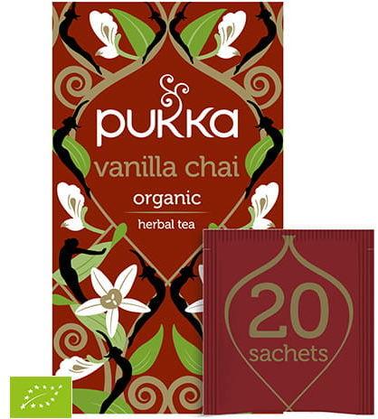 Pukka Vanilla Chai BIO 20 saszetek