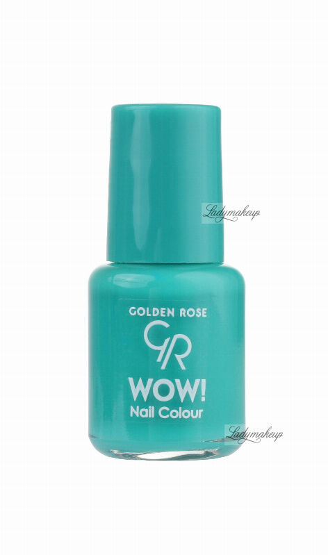 Golden Rose - WOW! Nail Color - Lakier do paznokci - 6 ml - 99