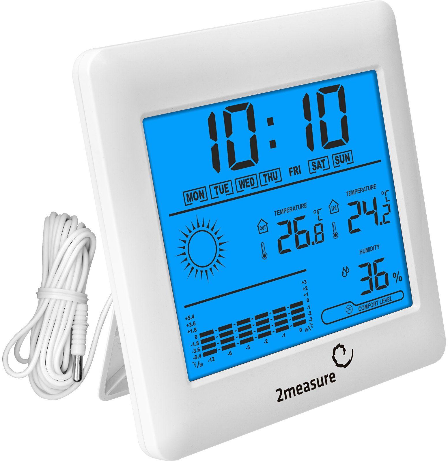 Stacja pogody - elektroniczna, sonda, termometr